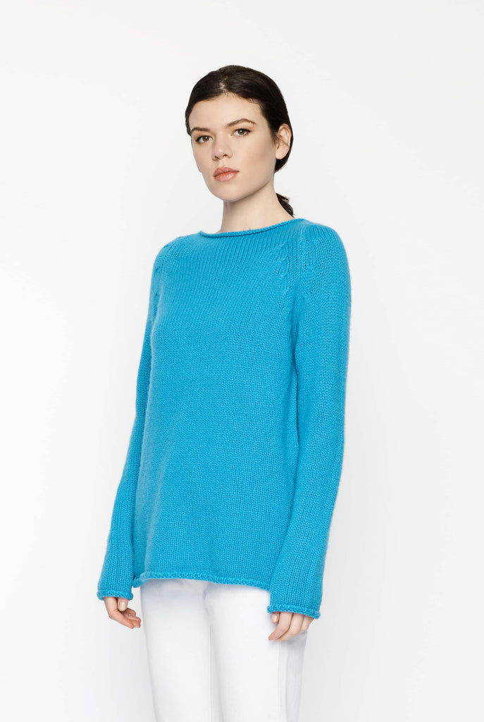 Big Fashion Sale Forte Forte Bright Blue Cashmere Knit