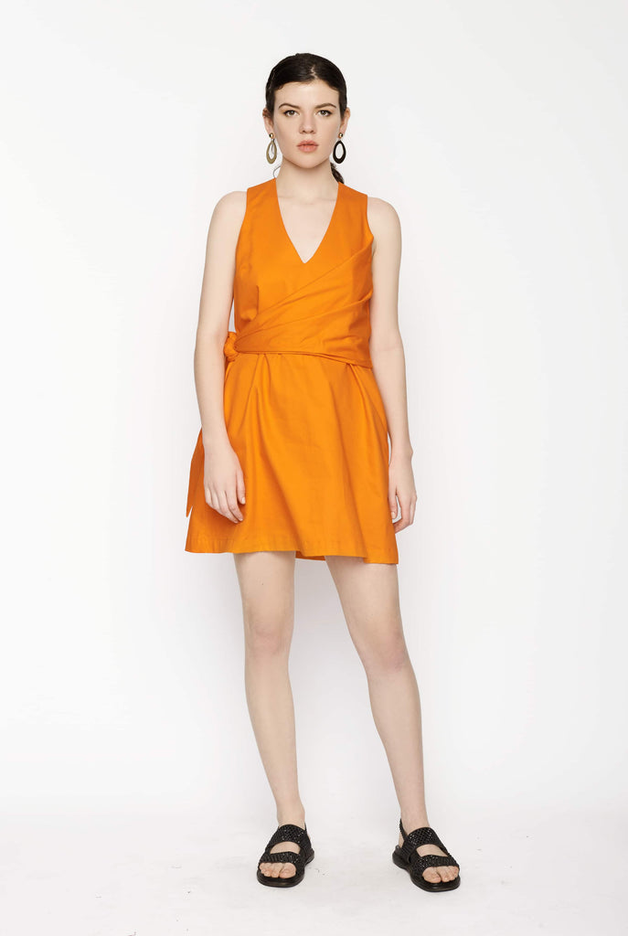 Big Fashion Sale Gary Bigeni Lotti Dress Orange