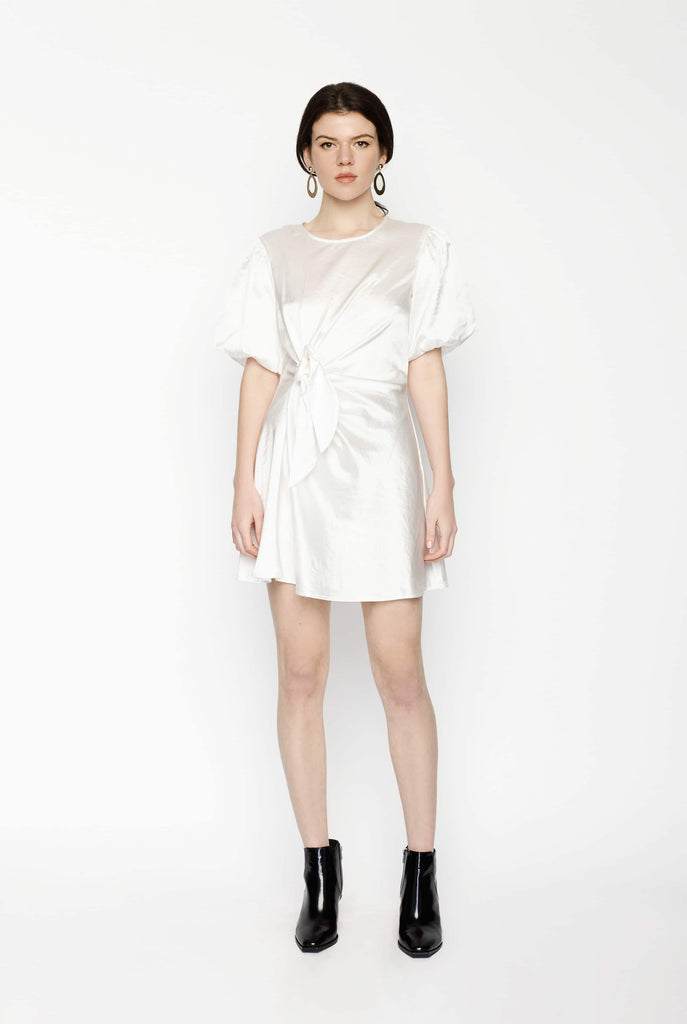 Big Fashion Sale Gary Bigeni Milena Dress Pearl White