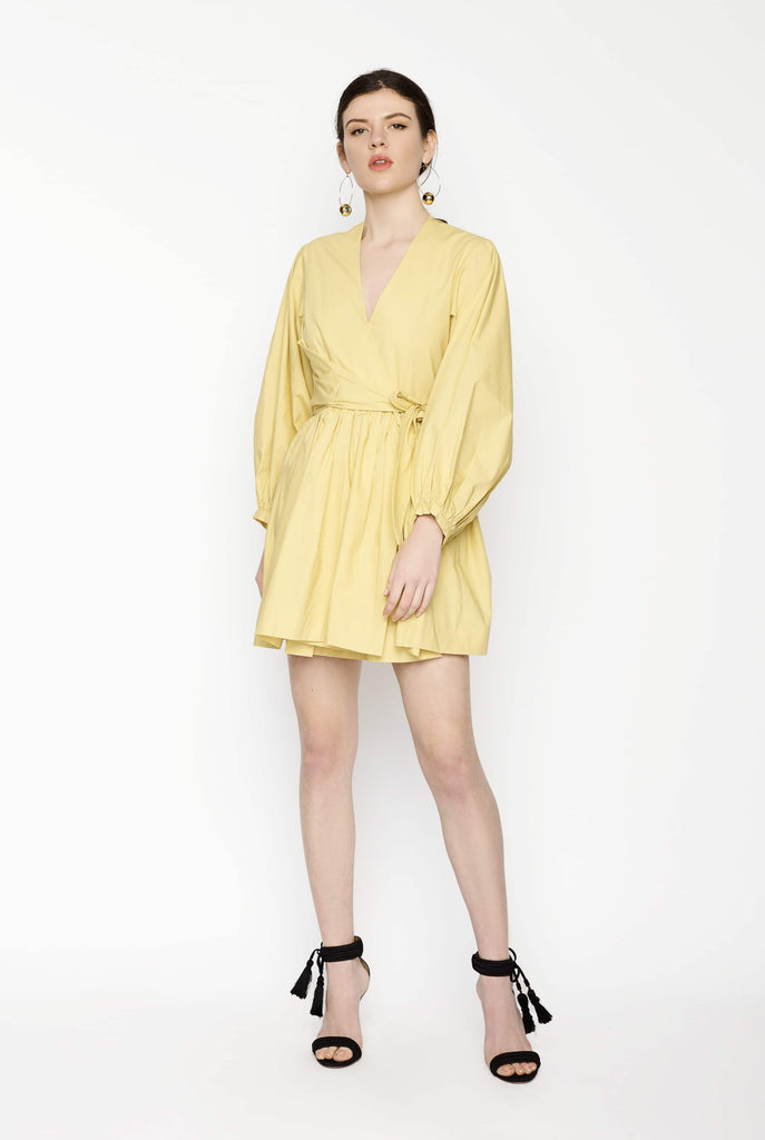 Big Fashion Sale Gary Bigeni Payton Mustard Dress