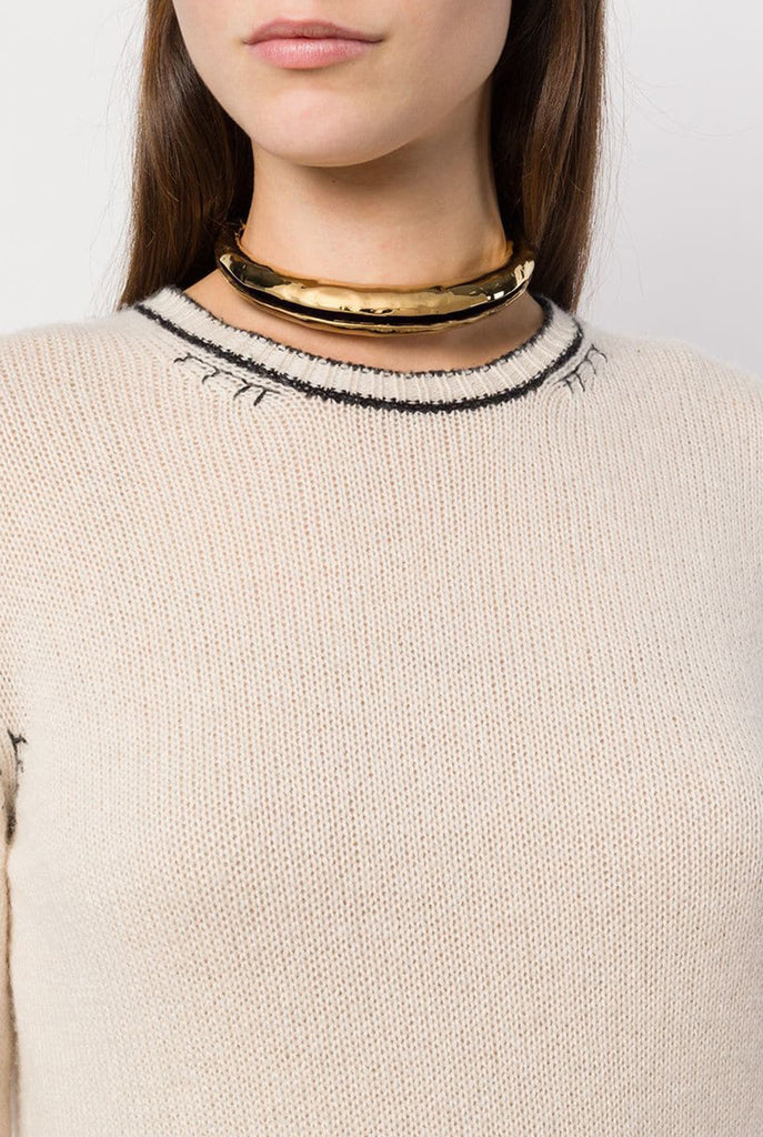 Marni - Hammer Choker Necklace