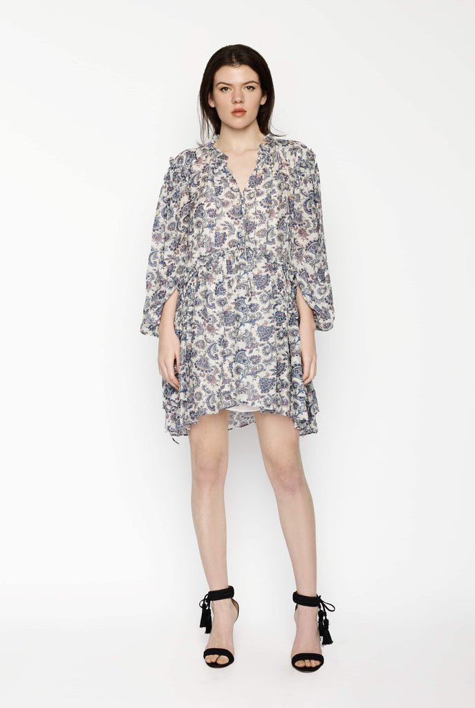 Big Fashion Sale Isabel Marant Boho Long Sleeve  Dress