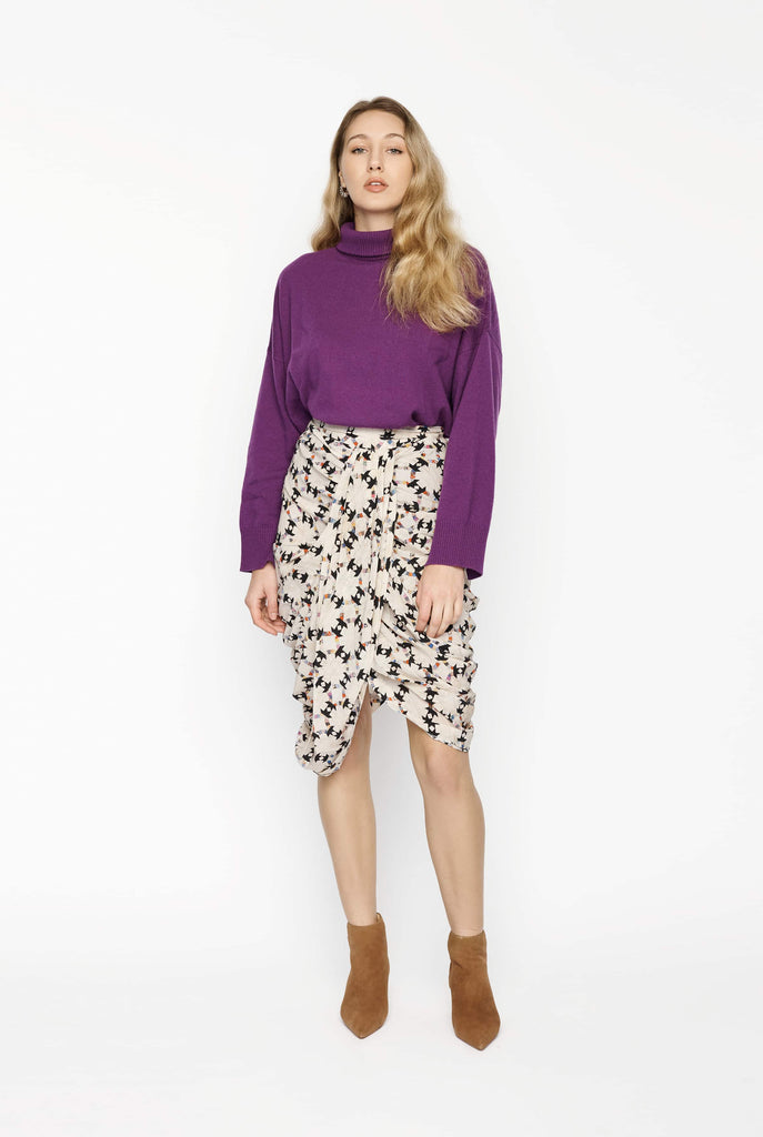 Big Fashion Sale Isabel Marant Draped Print Skirt