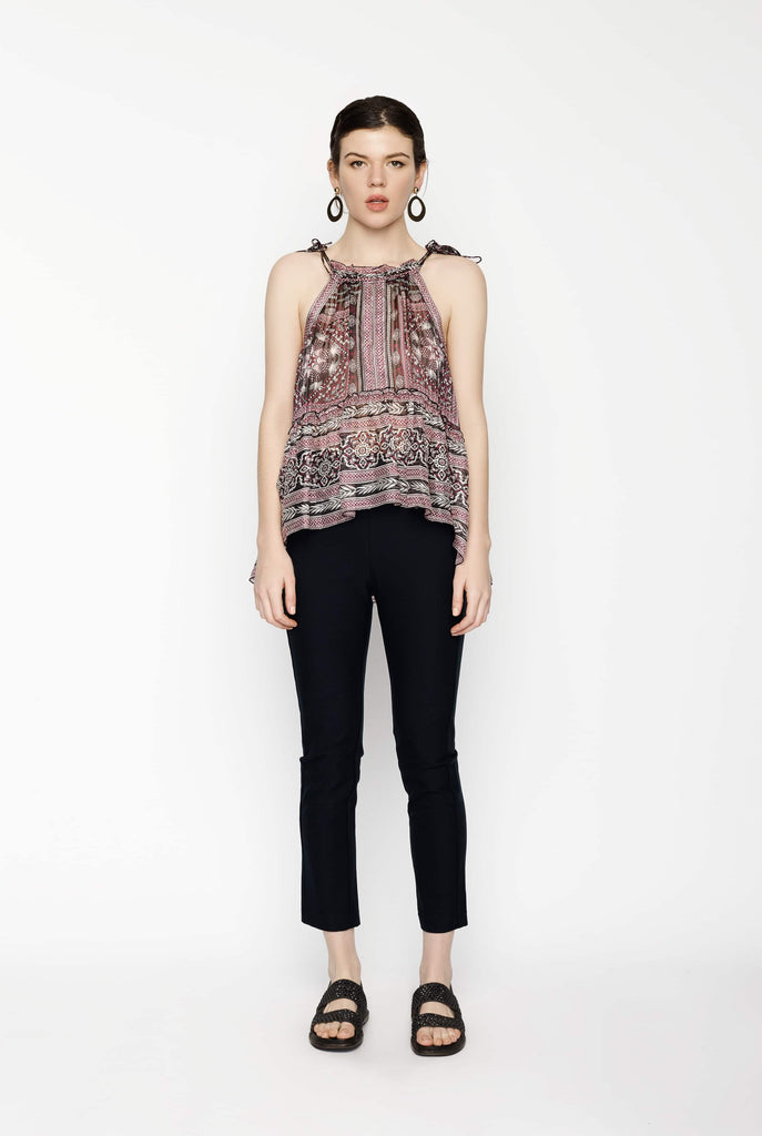 Big Fashion Sale Isabel Marant Easton Raspberry Sleeveless Top