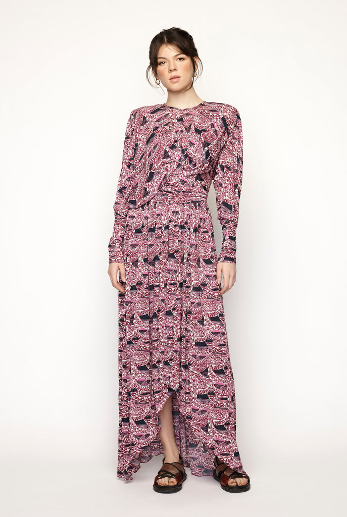 Isabel Marant - Floral Robe Jucienne Dress