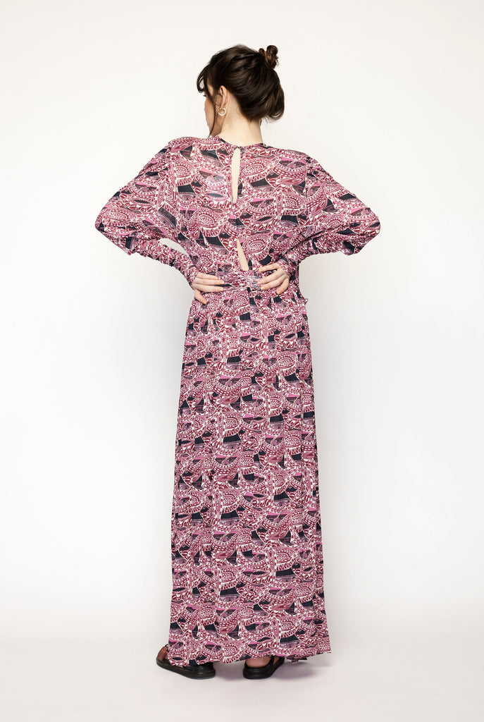 Floral Robe Jucienne Dress