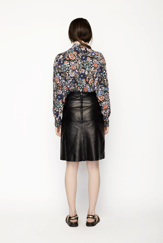 Isabel Marant - A-line Leather Skirt