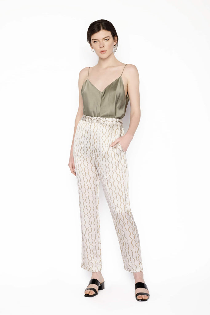 Big Fashion Sale Isabel Marant Zig Zag Silk Pant