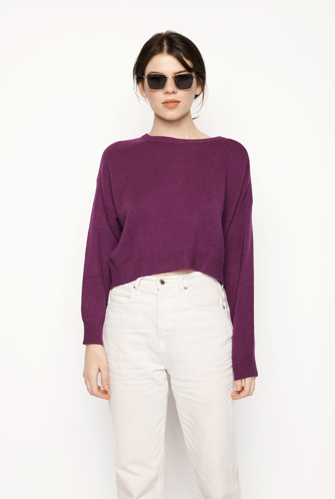 Lou Lou Studio - Bisentina Purple Sweater