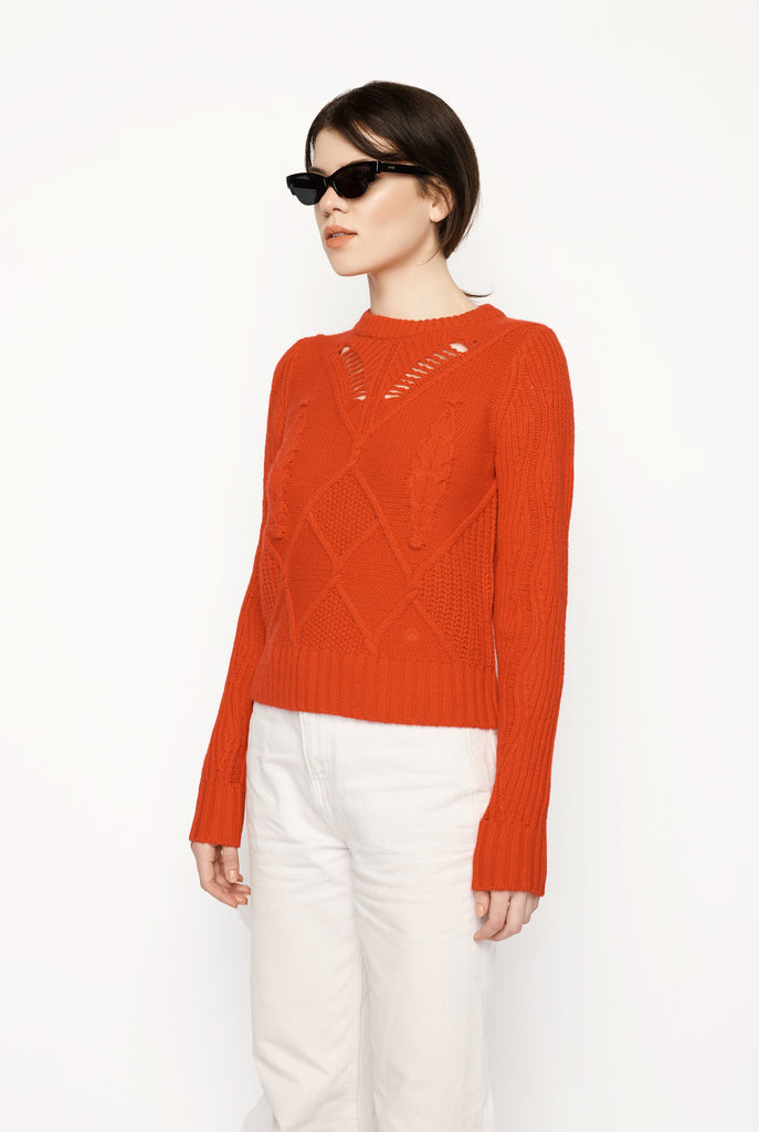 Lou Lou Studio - Torcello Red Knit Sweater
