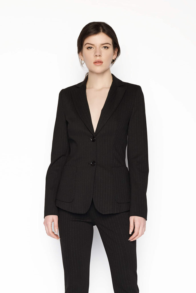 Big Fashion Sale Marc Cain Classic Pinstripe Blazer