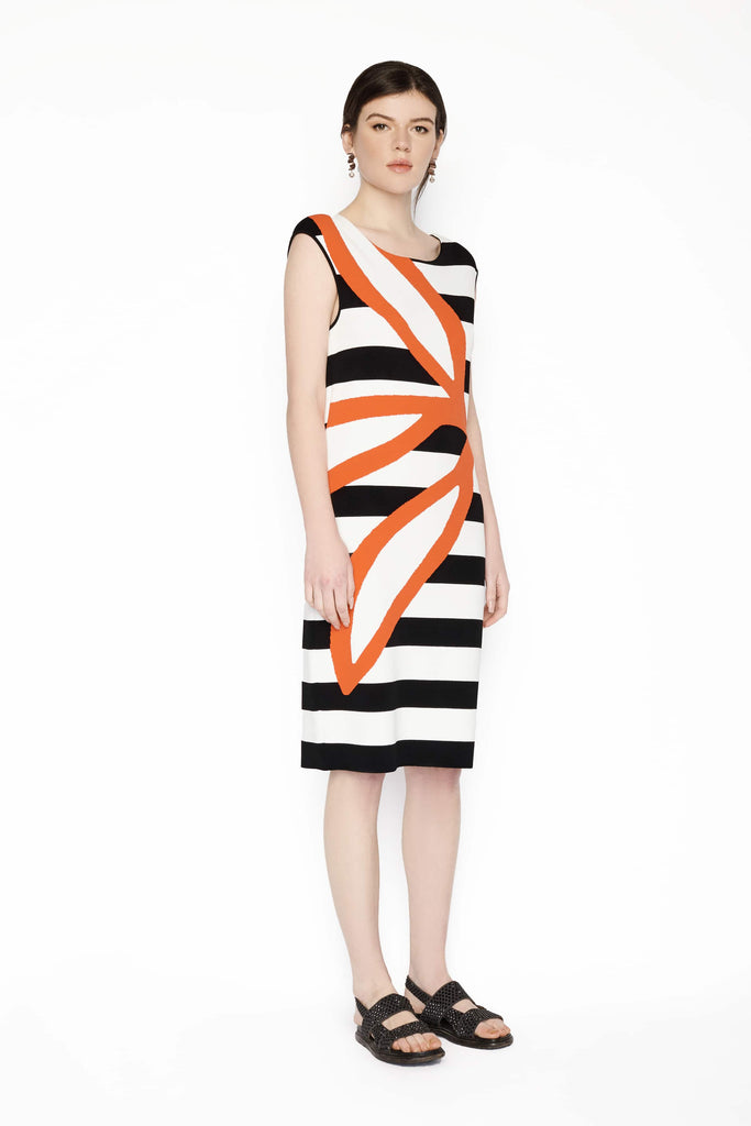 Big Fashion Sale Marc Cain Knit Black White Lobster Dress