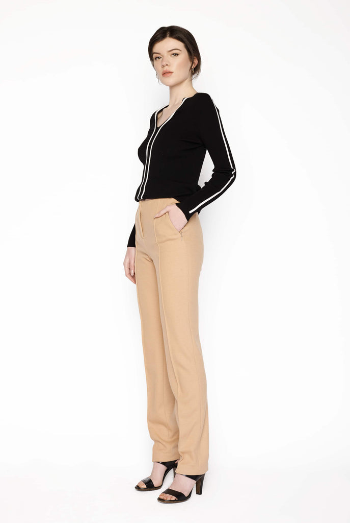 Big Fashion Sale Marc Cain Wool Pants Camel