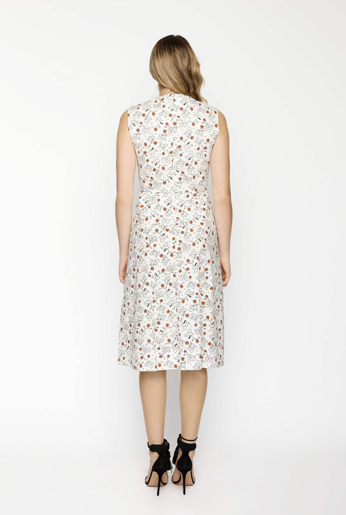 Big Fashion Sale Marni Middle Mist Poplin Dress