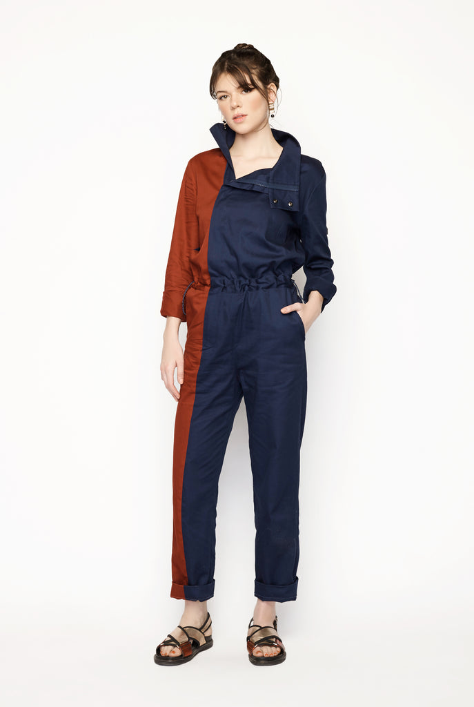 Two Tone Jumpsuit