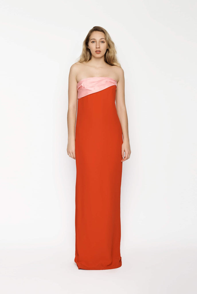 Big Fashion Sale Oscar de la Renta Strapless Gown Dress