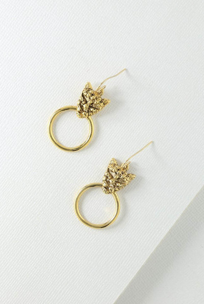Vanessa Mooney - Panther Earrings