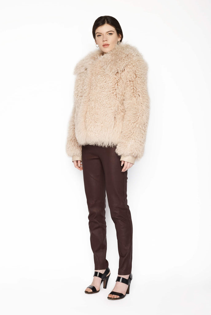 Big Fashion Sale Patrizia Pepe Shaggy Fur Jacket