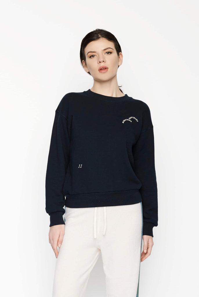 Big Fashion Sale Permanent Vacation Temporary Sweatshirt Navy