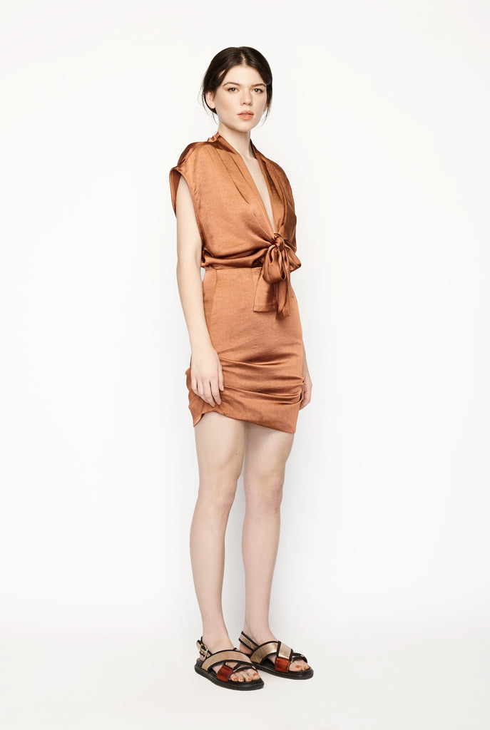 Pfeiffer - Sukie Tie Front Dress
