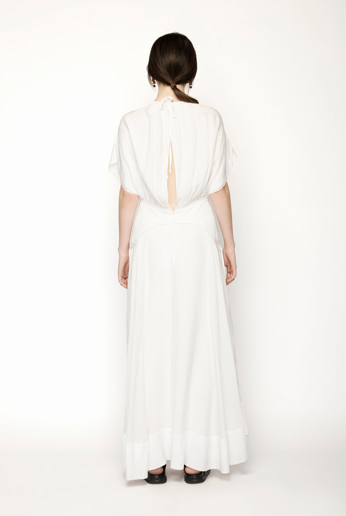 3.1 Phillip Lim - Cap Sleeve Maxi Dress With Ring Cutout