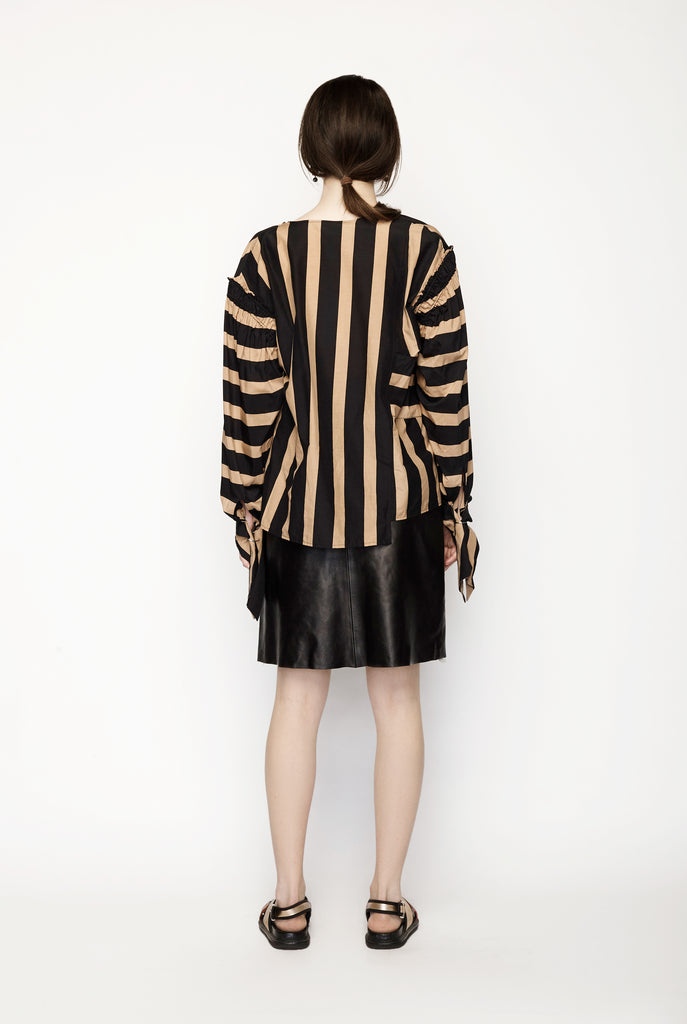 3.1 Phillip Lim - Long Sleeve Draped Neck Top