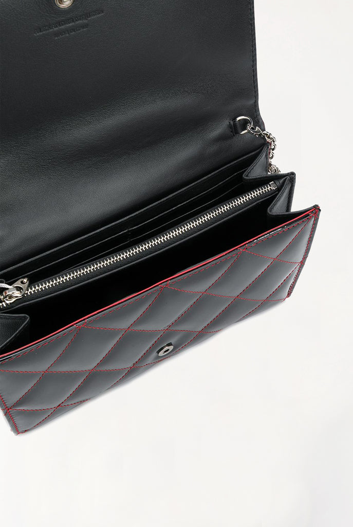 Quilted Patent Leather Bag