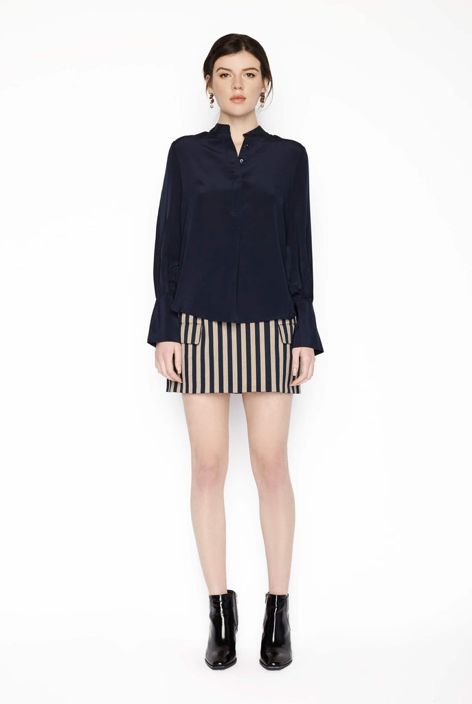 Big Fashion Sale Rebecca Vallance Lillian Blouse Navy