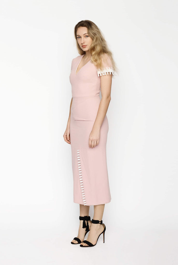 Big Fashion Sale Roland Mouret Fortana Wool Crêpe Dress
