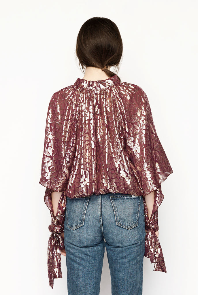 Romance Was Born - Disco Paisley Blouse