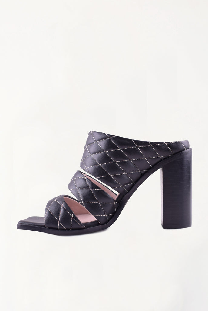 Ruben Mule - Black Quilted