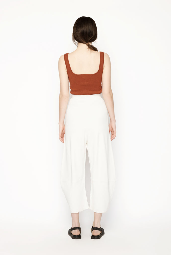 Slashed Volume Trousers