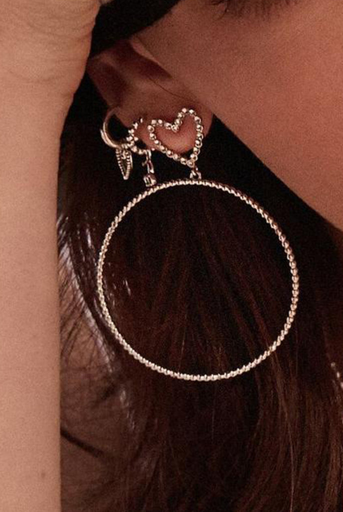 The Dotted Heart Hoops