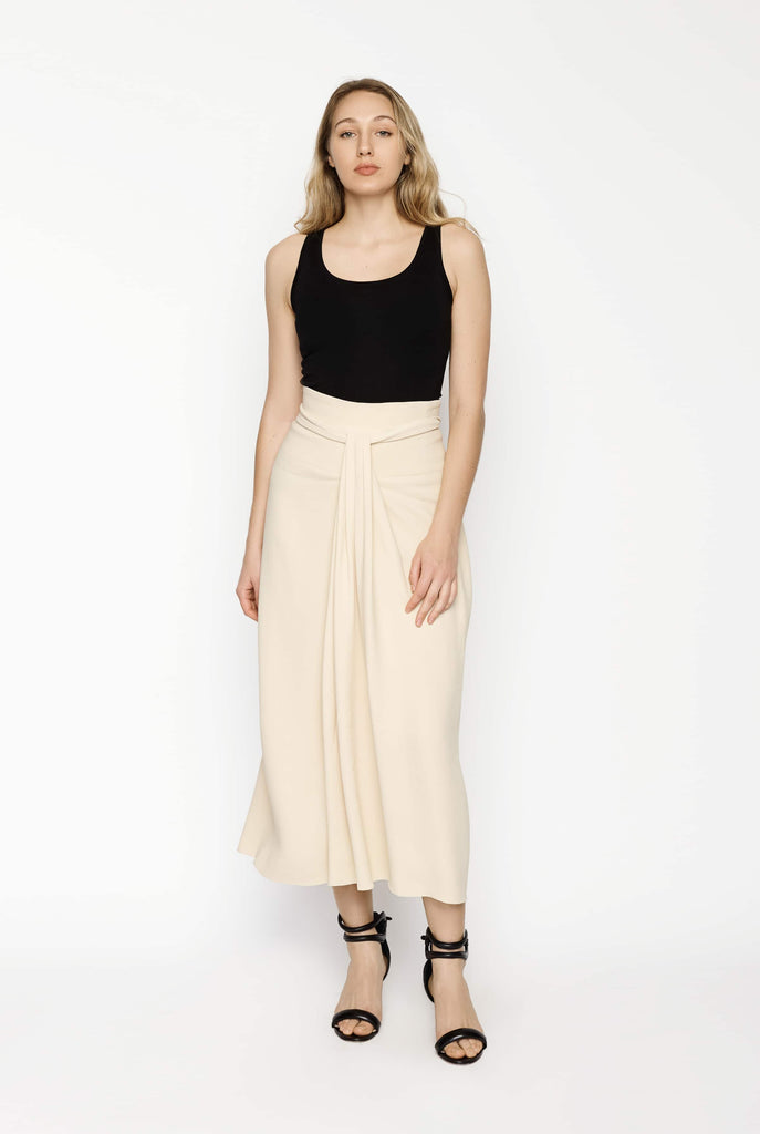 Big Fashion Sale The Row A Line Pleated Centre Skirt