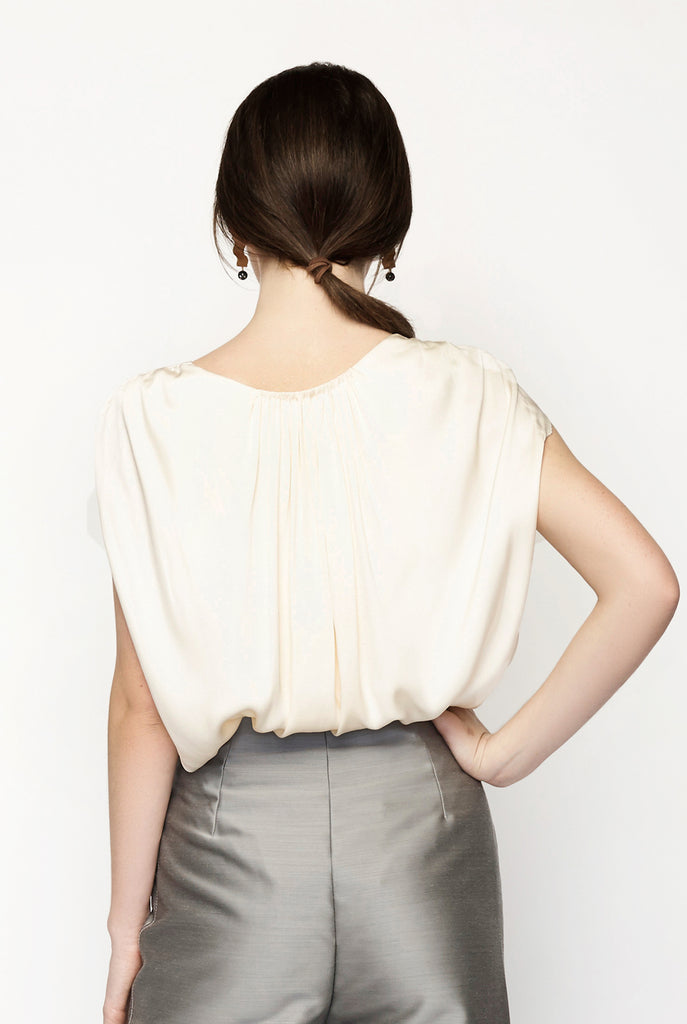 The Row - Ada Silk Blouse