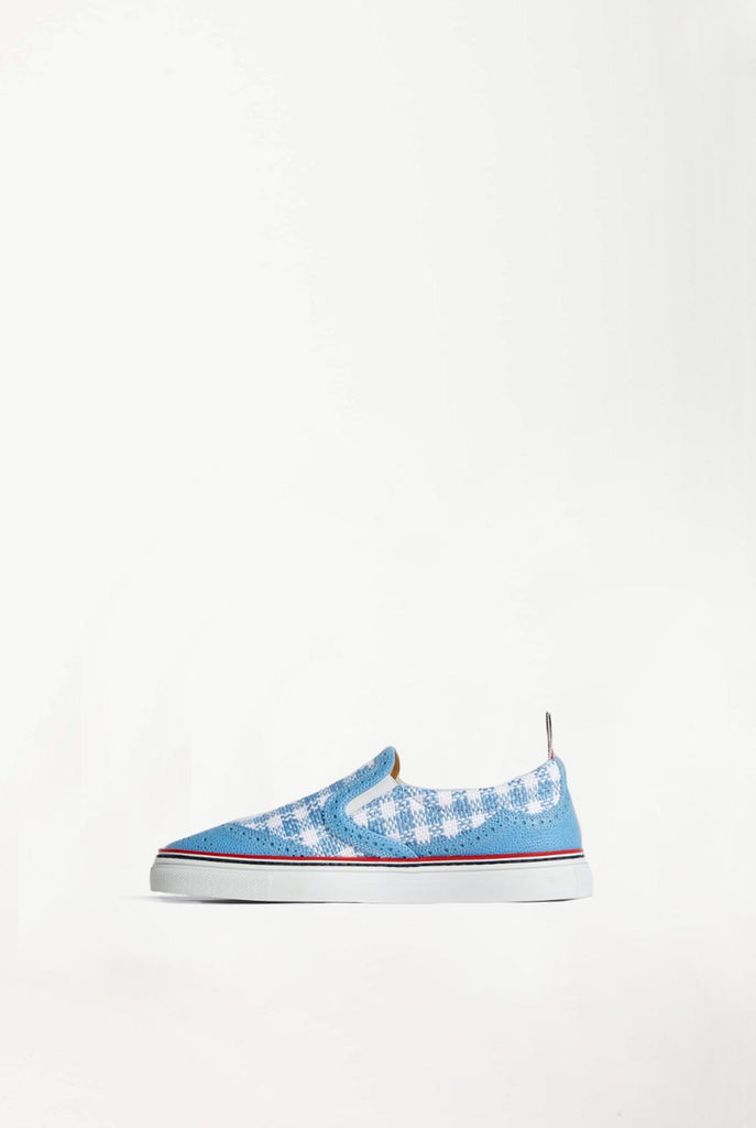 Thom Browne - Brogued Slip On Sneaker