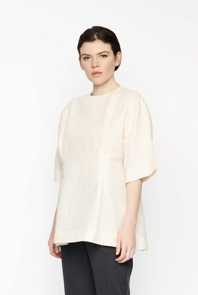 Big Fashion Sale Toteme Loano Top in Cream