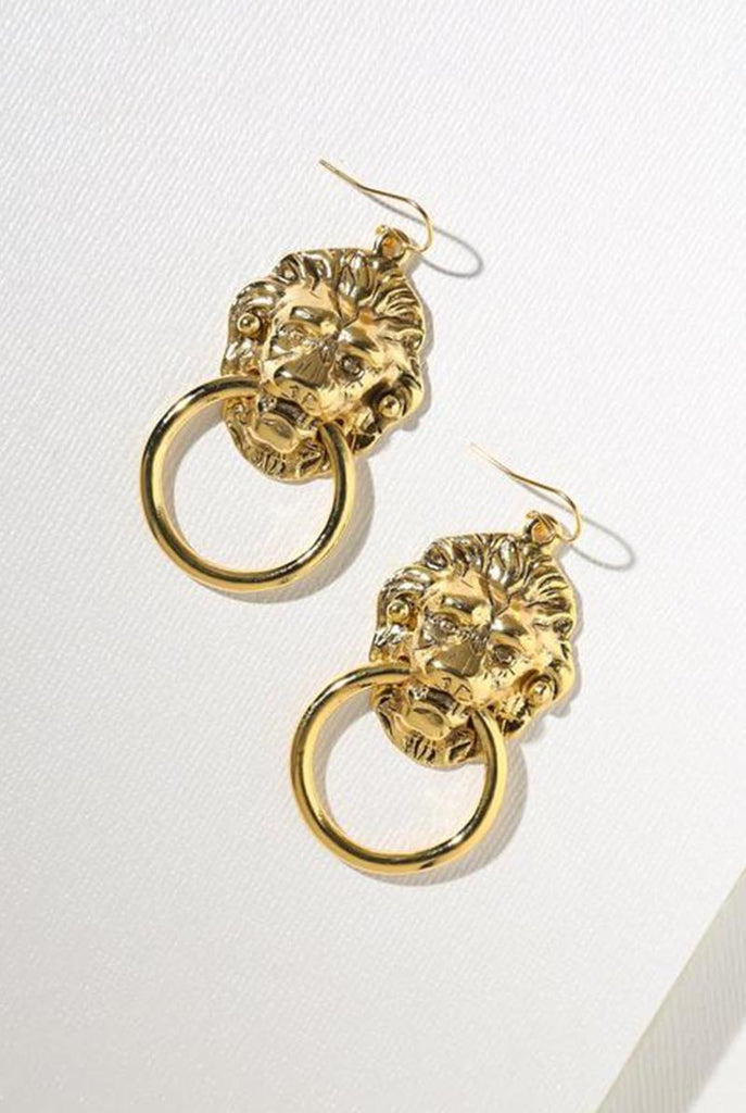 Vandal Small Door Knocker Earrings