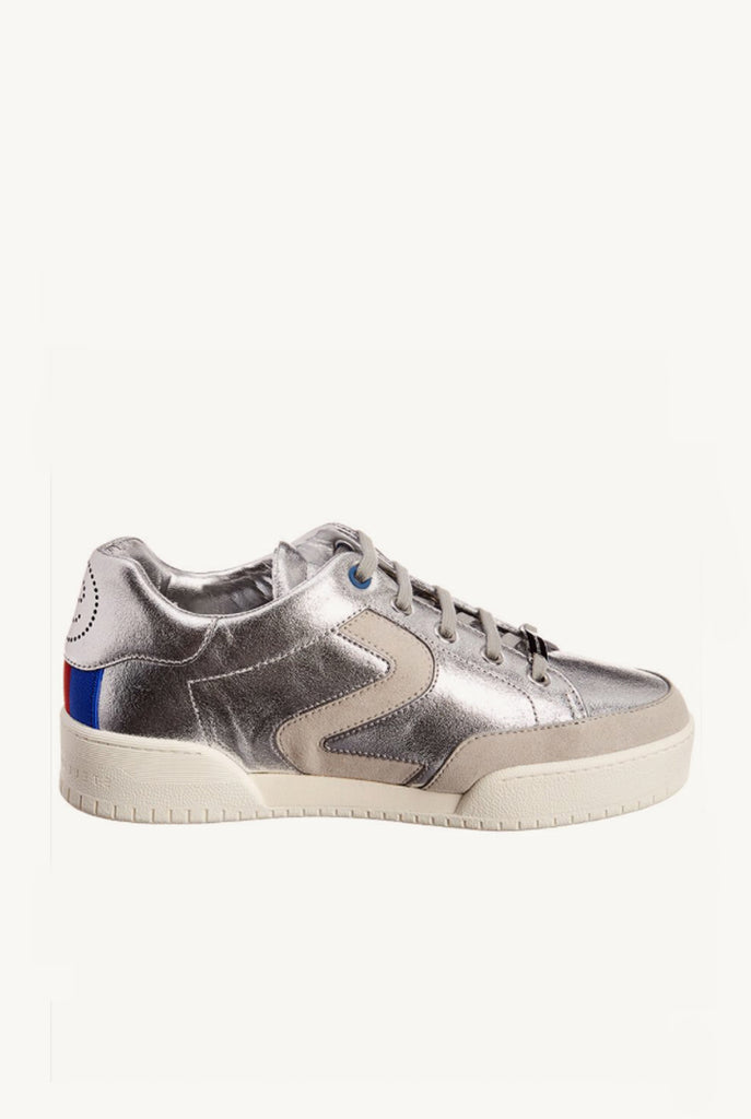 Metallic Vegan Leather Sneaker