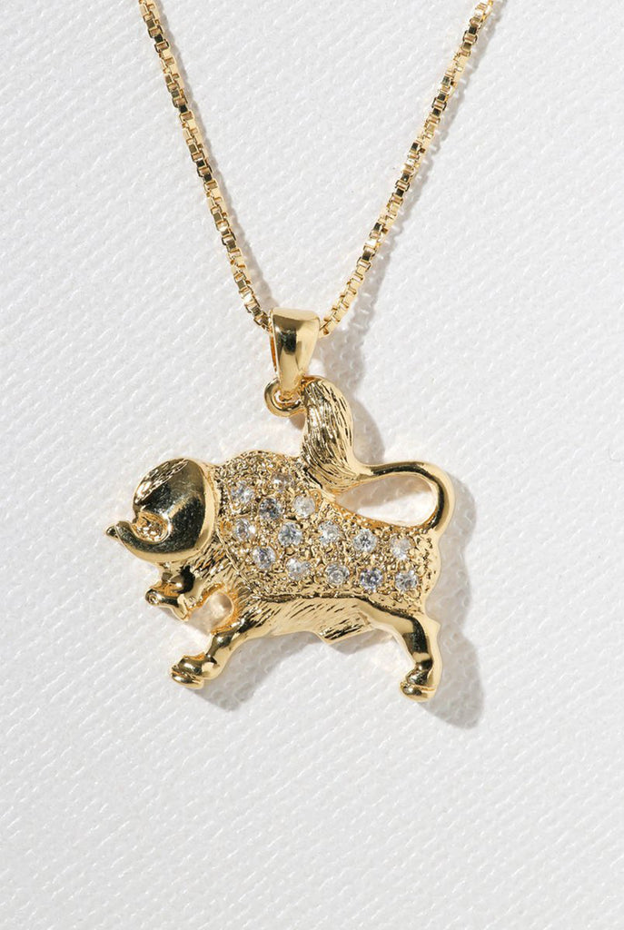 Vanessa Mooney - The Taurus Star Sign Necklace