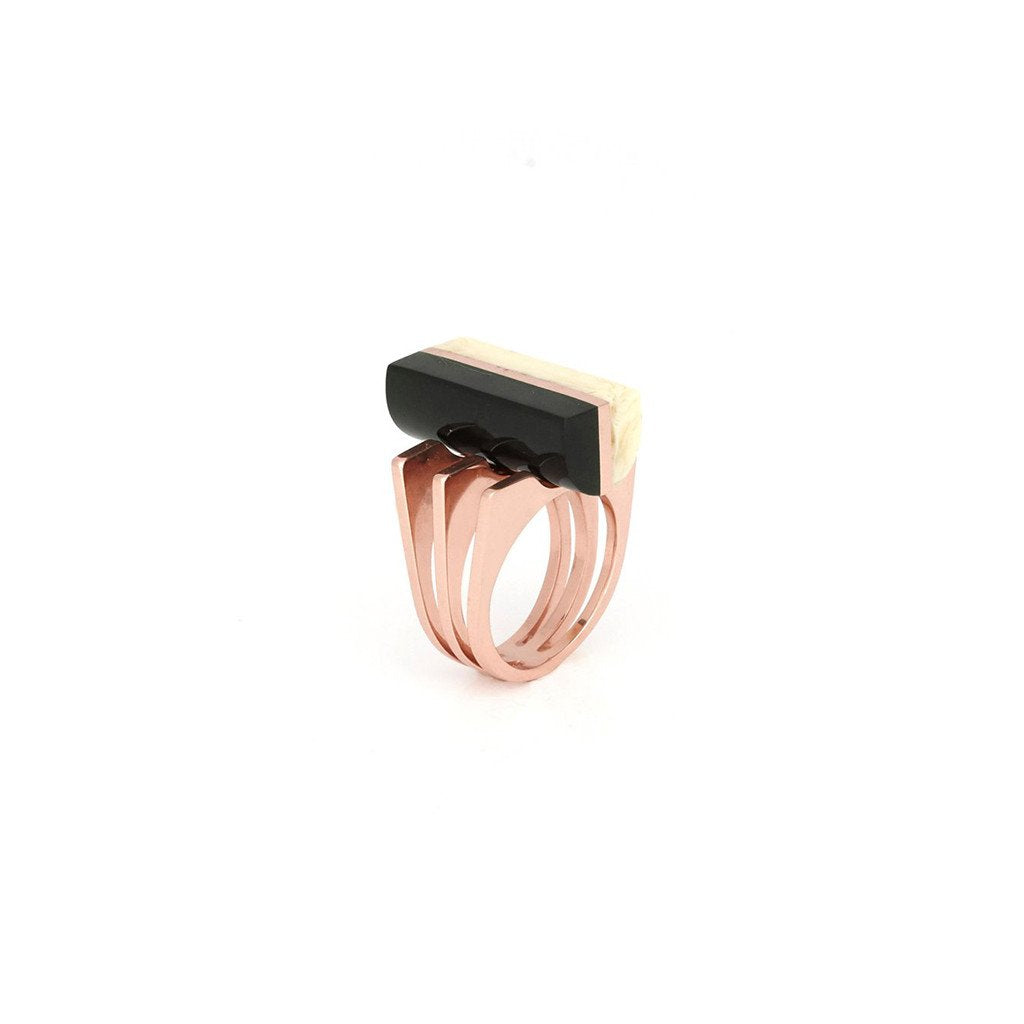 Studio Elke - Momentum Ring - Butter