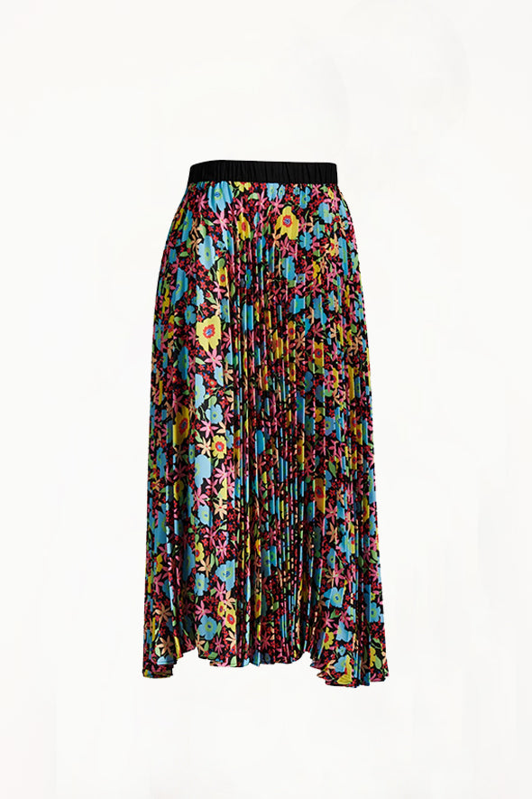 Romance Was Born - Pop Life Pleated Skirt, Floral