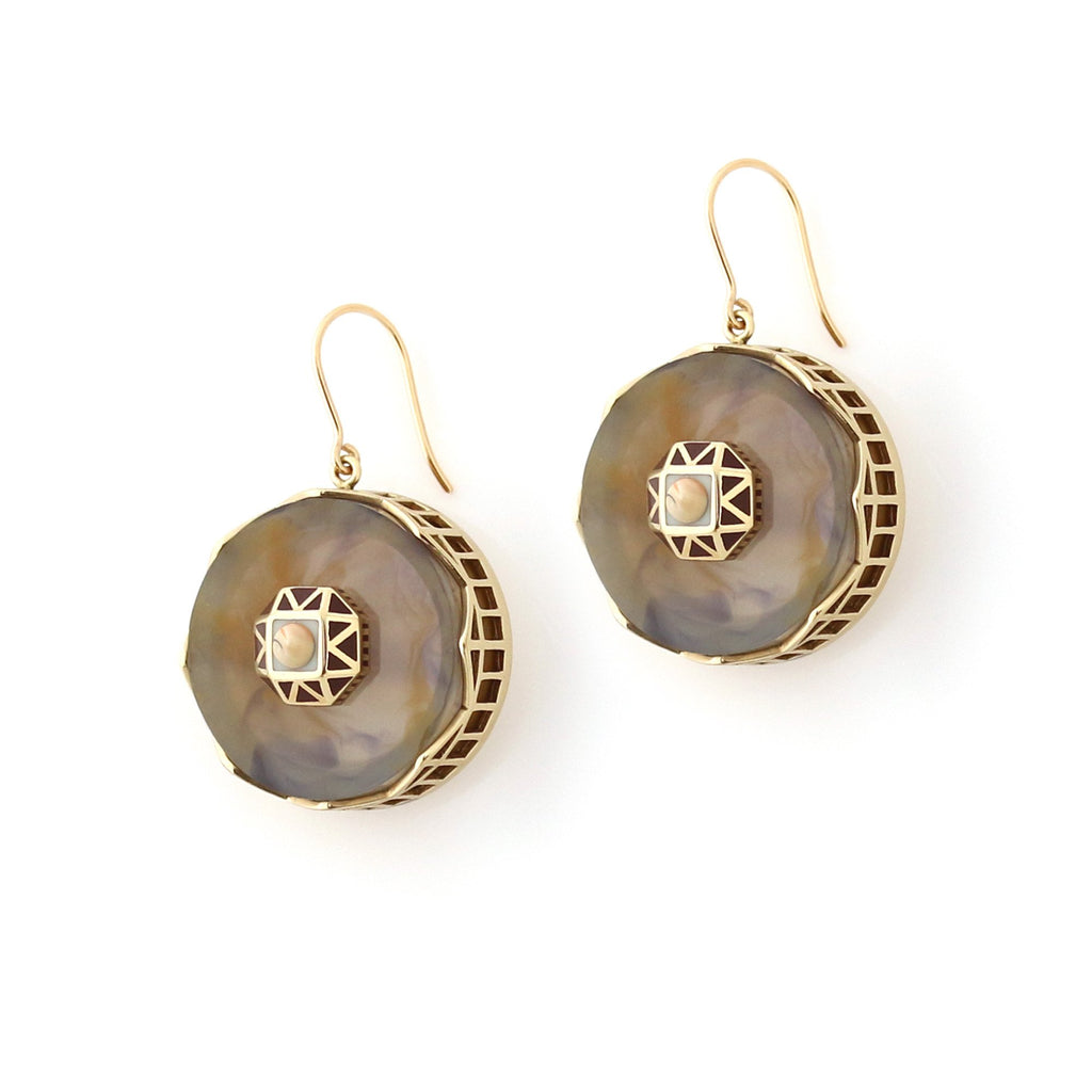 Studio Elke - Tempest Earrings - Dusk
