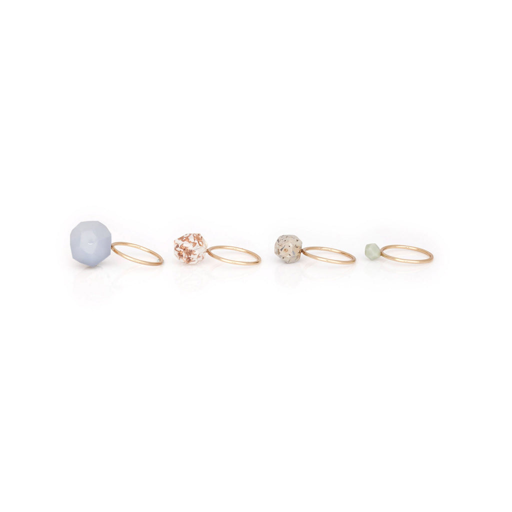 Studio Elke - Remnants Rings - Blue Laced Agate
