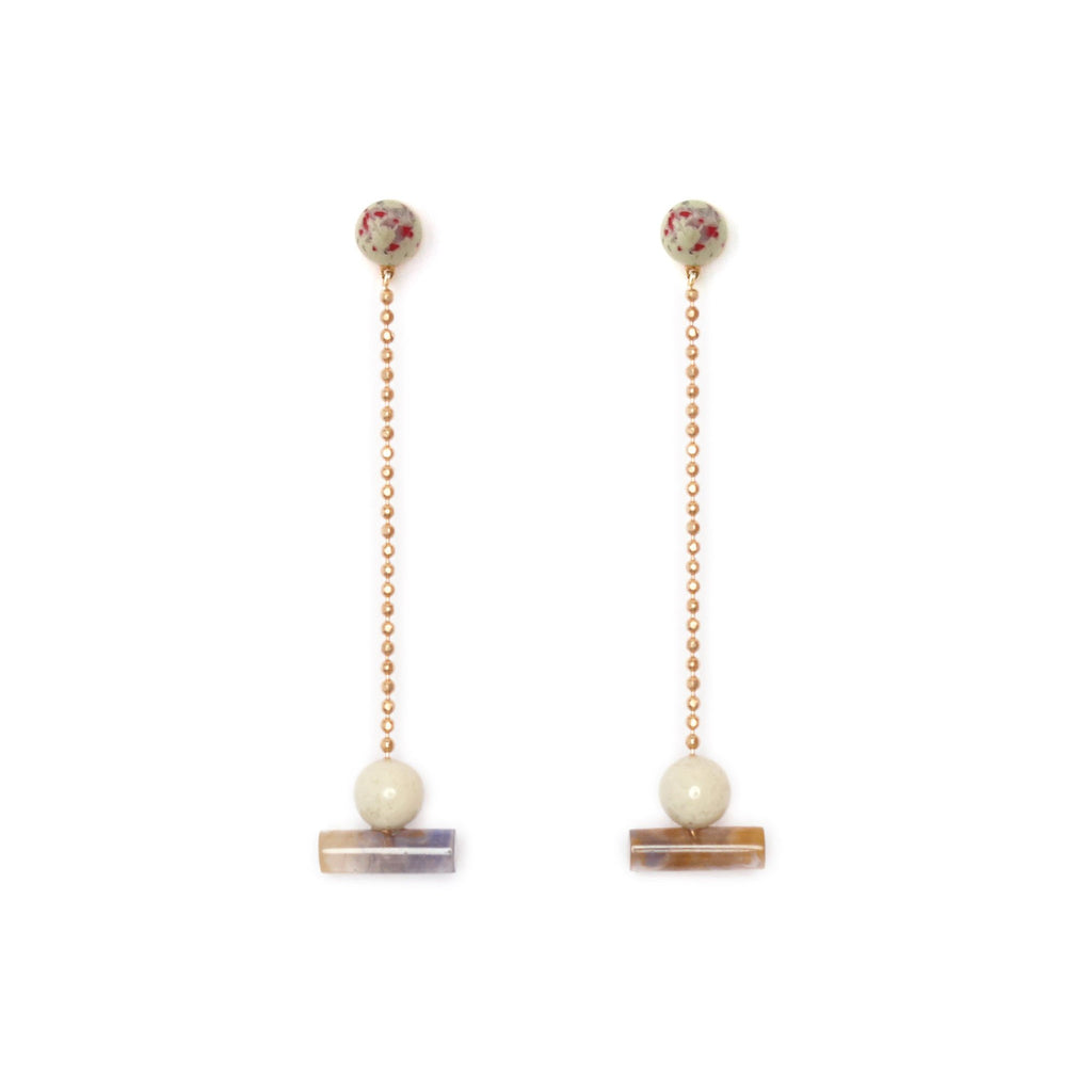 Studio Elke - Resin Actuality Earrings - Amulet
