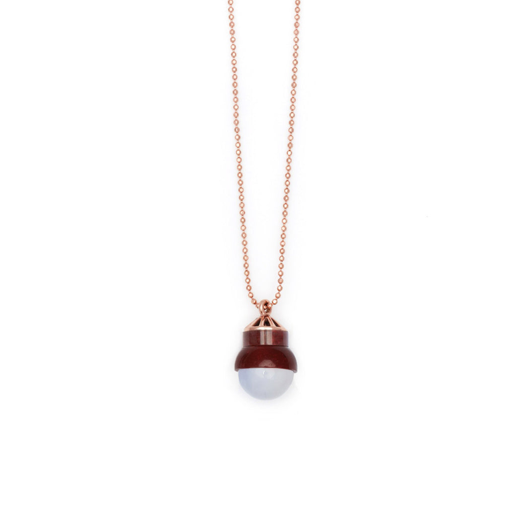 Studio Elke - Accidental Pendant - Blue Laced Agate