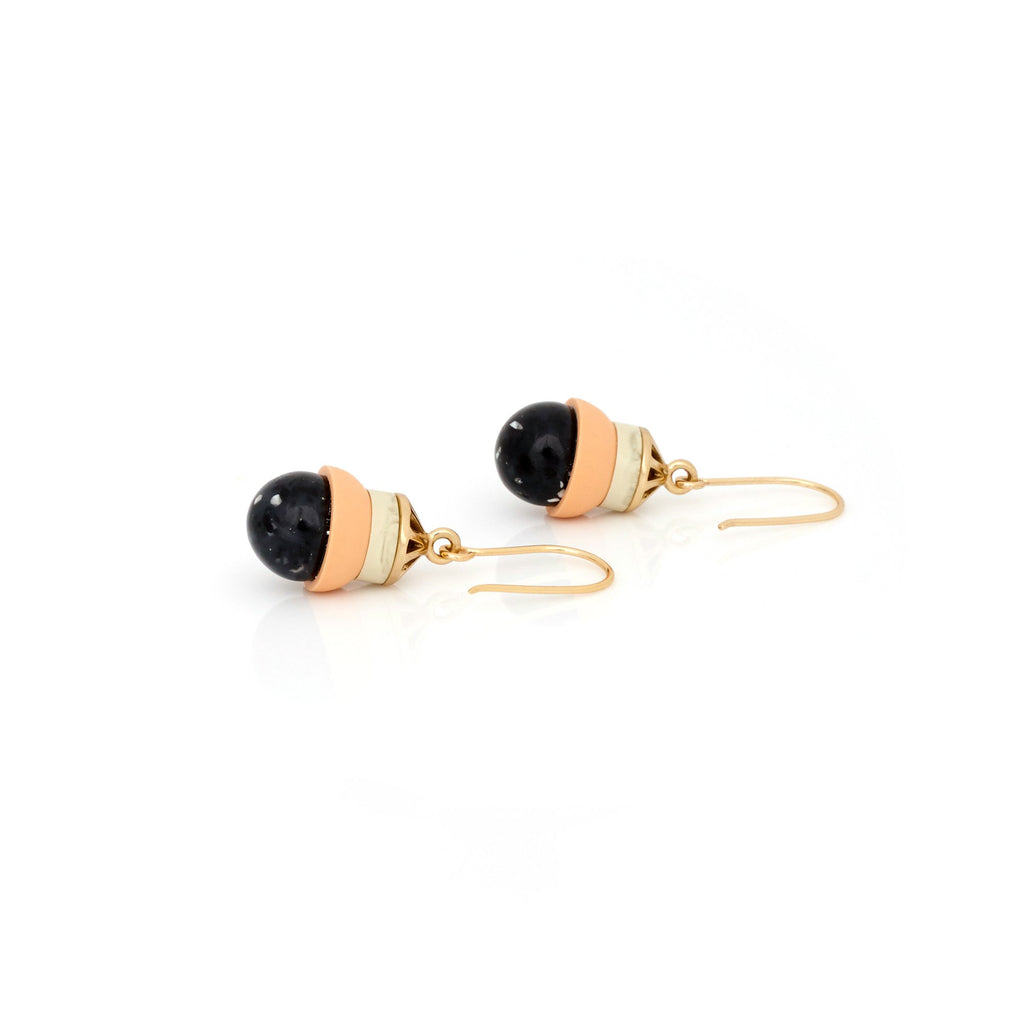 Studio Elke - Accidental Earrings - Peach