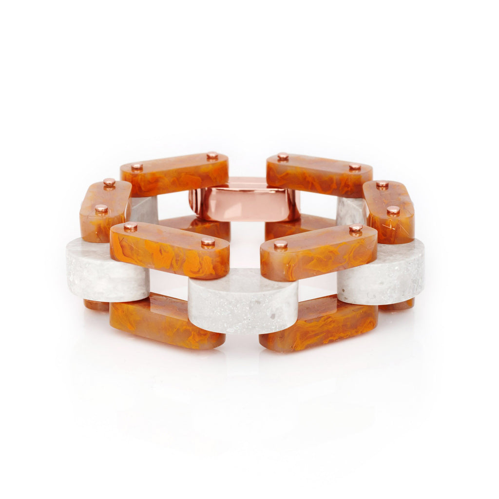 Studio Elke - Petite Keep Watch Bracelet - Rust