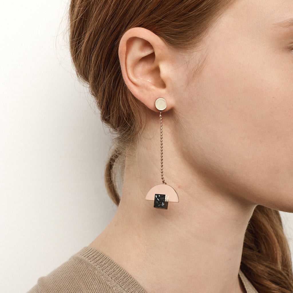 Luxe Statement Fashion Earrings designed by Studio Elke in Australia.
