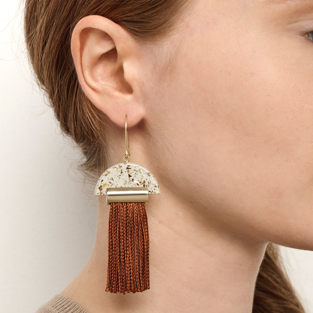 Gravity Tassel Earrings